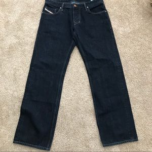Diesel Larkee ORUS4 Straight Leg Dark Wash Jeans